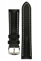 Buy Hirsch Heavy Calf Leather Watch Strap - 01475050-2-22 online