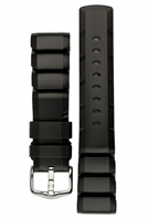 Buy Hirsch Extreme Rubber Watch Strap - 40498850-2-20 online