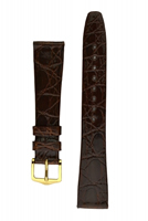 Buy Hirsch Prestige Leather Watch Strap - 02208110-1-18 online