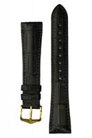 Buy Hirsch London Alligator Leather Watch Strap - 04207059-1-18 online