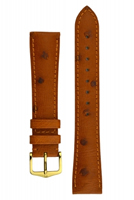 Buy Hirsch Massai Leather Watch Strap - 04262070-1-18 online
