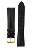 Buy Hirsch Genuine Alligator Leather Watch Strap - 10220759-1-20 online