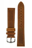 Buy Hirsch Terra Leather Watch Strap - 04633070-2-20 online