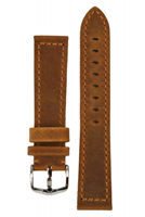 Buy Hirsch Terra Leather Watch Strap - 04633070-2-22 online