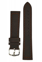 Buy Hirsch Terra Leather Watch Strap - 04633010-2-22 online
