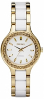 Buy DKNY Ceramix Ladies Two Tone Watch - NY8140 online