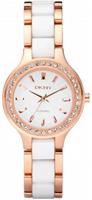 Buy DKNY Ceramix Ladies Two Tone Watch - NY8141 online