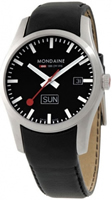 Buy Mondaine A6673034014SBB Retro Day - Date Mens Watch online