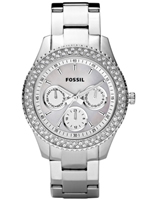 Buy Fossil Stella Ladies Crystal Set Watch - ES2860 online