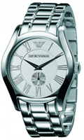 Buy Emporio Armani Valente Mens Seconds Dial Watch - AR0647 online