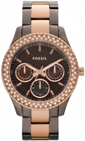Buy Fossil Stella Ladies Rose Gold IP Watch - ES2955 online