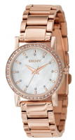 Buy DKNY Rose Gold Ladies Mother of Pearl Dial Watch - NY8121 online