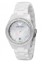Buy Emporio Armani Leo Ceramica Ladies Watch - AR1426 online