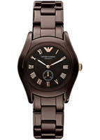 Buy Emporio Armani Ceramica Ladies Seconds Dial Watch - AR1448 online