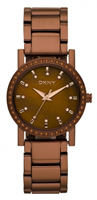 Buy DKNY Chocolate Ladies Stone Set Watch - NY8467 online