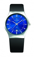 Buy Skagen Mens Leather Watch - 233XXLSLN online