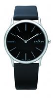 Buy Skagen Mens Leather Watch - 858XLSLB online