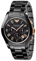 Buy Emporio Armani Valente Ceramica Mens Chronograph Watch - AR1410 online