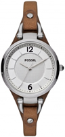 Buy Fossil Georgia Ladies Leather Watch - ES3060 online
