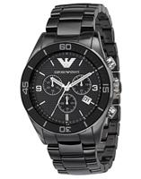 Buy Emporio Armani Leo Ceramica Mens Chronograph Watch - AR1421 online