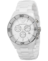 Buy Emporio Armani Leo Ceramica Mens Chronograph Watch - AR1424 online