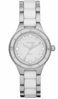 Buy DKNY Ceramix Ladies Two Tone Watch - NY8498 online