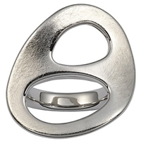 Buy Fossil Ladies Stainless Steel Ring - JF83456040503 online