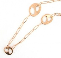 Buy Fossil Ladies Rose Gold Tone Necklace - JF83702040 online