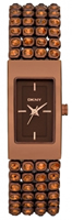 Buy DKNY Chocolate Ladies Stone Set Watch - NY8561 online