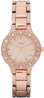 Buy DKNY Rose Gold Ladies Designer Watch - NY8486 online