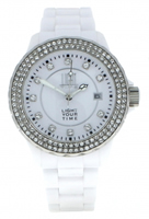 Buy Light Time Black & White L071A Ladies Watch online