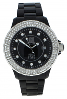 Buy Light Time Black & White L071C Ladies Watch online