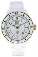 Buy Light Time Black & White L112B Mens Watch online