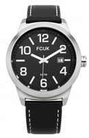 Buy French Connection Mens Leather Watch - FC1098BB online
