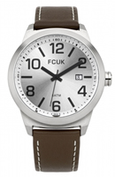 Buy French Connection Mens Leather Watch - FC1098ST online