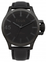 Buy French Connection Mens Leather Watch - FC1140BB online