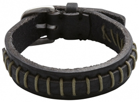 Buy Fossil Mens Leather Bracelet - JF88067040 online