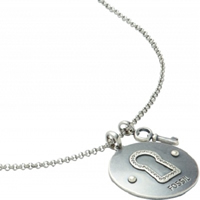 Buy Fossil Ladies Charm Necklace - JF87301040 online
