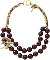 Buy Fossil Ladies Stone Set Necklace - JA4776716 online
