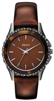 Buy DKNY Tortoiseshell Ladies Stone Set Watch - NY8705 online