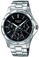 Buy Casio Sheen SHE-3801D-1ADR Ladies Watch online
