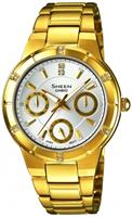 Buy Casio Sheen SHE-3800GD-7AEF Ladies Watch online