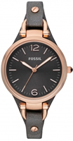 Buy Fossil Georgia Ladies Leather Watch - ES3077 online