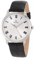 Buy Bulova Dress Mens Stainless Steel Watch - 96A133 online