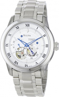 Buy Bulova Mechanicals Mens Stainless Steel Watch - 96A118 online