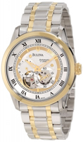 Buy Bulova Mechanicals Mens Stainless Steel Watch - 98A123 online