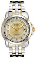 Buy Bulova Precisionist Champlain Mens Date Display Watch - 98B156 online