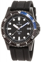 Buy Bulova Precisionist Round Mens Date Display Watch - 96B159 online