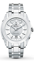 Buy Bulova Precisionist Longwood Mens Date Display Watch - 96B130 online