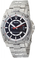 Buy Bulova Precisionist Champlain Mens Date Display Watch - 96B133 online